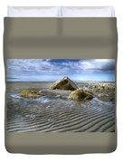 Rocks And Sand Duvet Cover