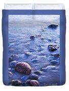 Rocks In Water Duvet Cover
