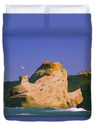 Rocky Coast Of Cape Kiwanda State Duvet Cover