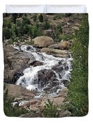 Rocky Mountain Falls Duvet Cover