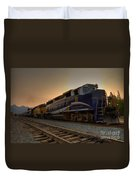 Rocky Mountaineer Halo Duvet Cover