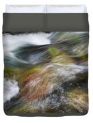 Rocky Riverbed Duvet Cover