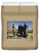 Rodin: Burghers Of Calais Duvet Cover