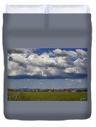 Rogue Valley Red Roof Farm Duvet Cover