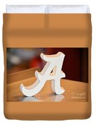 Roll Tide Duvet Cover by Maria Urso