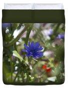 Romaine Lettuce Flower Duvet Cover