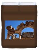 Roman Arch Ephesus Turkey Duvet Cover