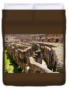 Roman Coliseum Underground Duvet Cover