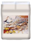 Roman Relicts Abstract 4 Duvet Cover