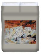 Roman Relicts Abstract 5 Duvet Cover