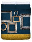 Room With Frames Duvet Cover by Atiketta Sangasaeng