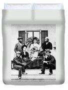 Roosevelt Family 1878 Duvet Cover