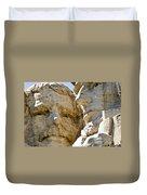 Roosevelt On Mt Rushmore National Monument Duvet Cover