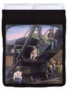Roosevelt: Panama Canal Duvet Cover