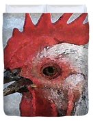 Rooster No. 2 Duvet Cover