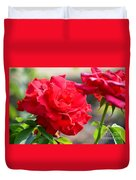 Rosas Roja Duvet Cover