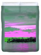 Rose Colore Scape Duvet Cover