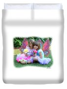 Rose Faeries Duvet Cover