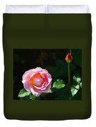 Rose In Chicago Botanic Garden Duvet Cover