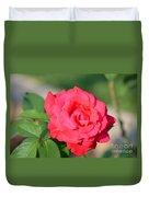 Rose In The Morninglight Duvet Cover