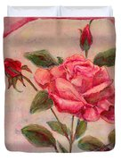 Rose Of Love And Romance Duvet Cover