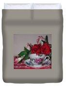 Rose Tea Duvet Cover