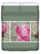 Rose Triptych 11 Duvet Cover