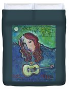 Roseanne Cash Duvet Cover
