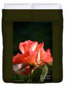 Rosebud Folklore Duvet Cover