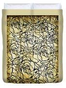 Roses Pattern Duvet Cover by Setsiri Silapasuwanchai