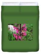 Rosey Leaf Sage Duvet Cover