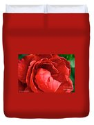 Rosie Red Duvet Cover