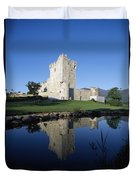 Ross Castle, Killarney, Co Kerry Duvet Cover