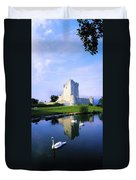 Ross Castle, Lough Leane, Killarney Duvet Cover