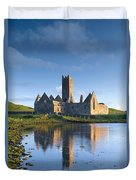 Rosserk Friary, Co Mayo, Ireland 15th Duvet Cover