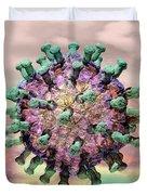 Rotavirus 2 Duvet Cover by Russell Kightley