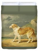 Rough-coated Collie Duvet Cover