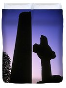 Round Tower And High Cross Duvet Cover