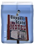 Route 66 Copper State Motel Duvet Cover