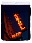 Route 66 Hotel Williams Duvet Cover
