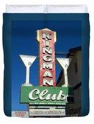 Route 66 Kingman Club Duvet Cover