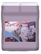 Route 66 Mural 10 Duvet Cover