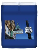 Route 66 Turquoise Tepee Duvet Cover