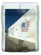 Route 66 Wall Duvet Cover