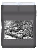 Routes In Roots  Duvet Cover