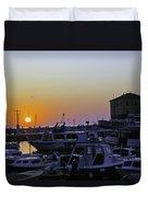 Rovinj Sunset Duvet Cover
