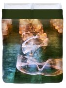 Rows Of Safety Goggles Duvet Cover
