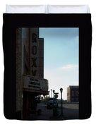 Roxy Regional Theater Duvet Cover by Ed Gleichman