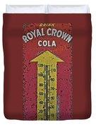 Royal Crown Cola Duvet Cover