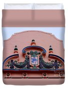 Royal Hawaiian Hotel Entry Facade Duvet Cover